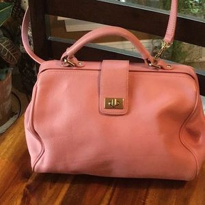 Beautiful Talbots leather crossbody/satchel bag.